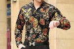Chango Chia Long Sleeve Shirt (Black) - Pacho Herrera Narcos Shirts