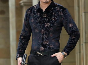 Chango Pereira Long Sleeve Shirt (Black) - Pacho Herrera Narcos Shirts