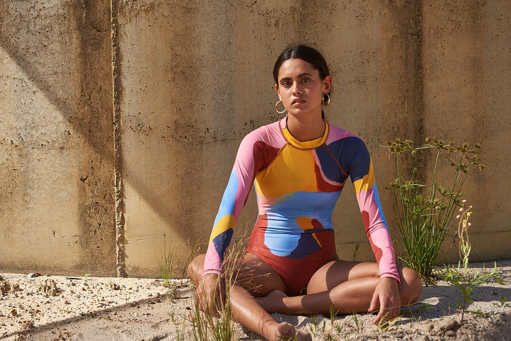 sustainable recycled surf wear