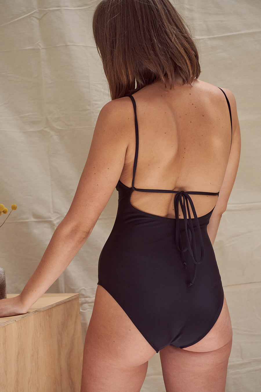 Juniper Maillot Black