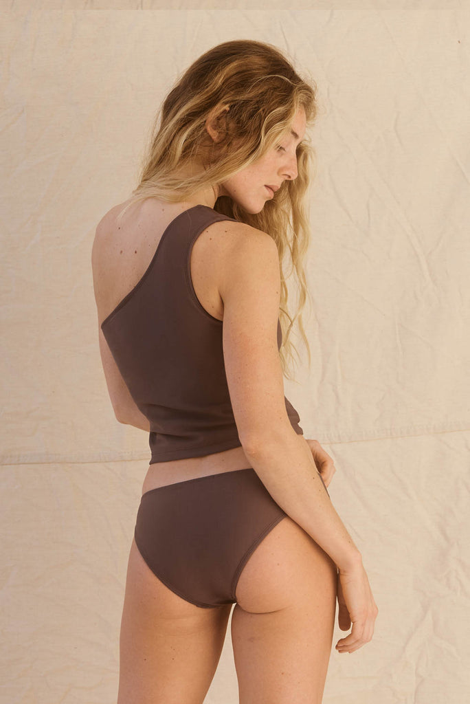 Riad Top Dark Taupe