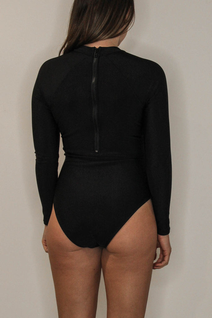 Surf Suit Black Sample