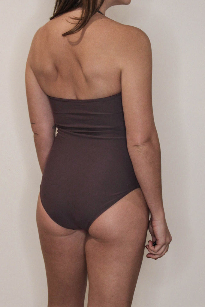 Tube One Piece Dark Taupe Sample