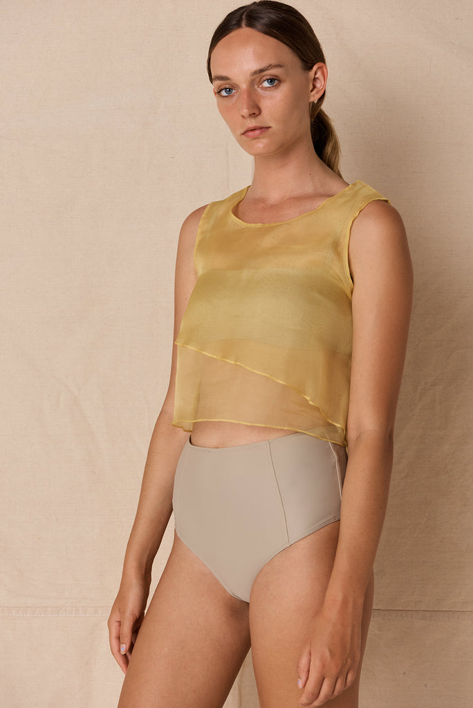 Organza Top | Sunflower