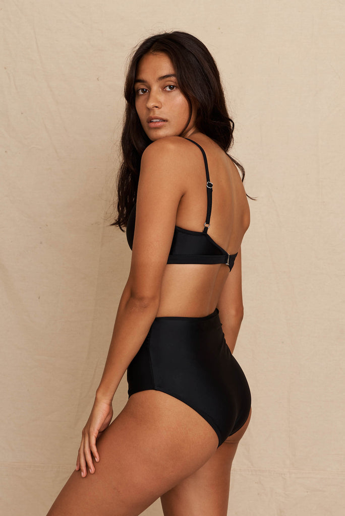 Myrta Bottom Black