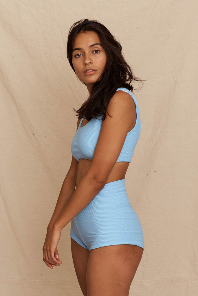 Sol Short Sea Blue Rib