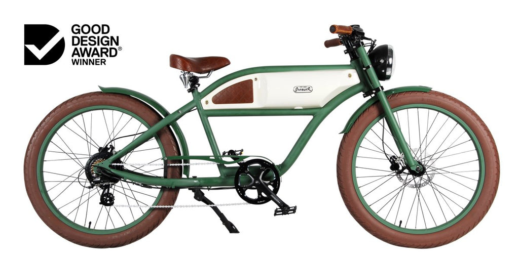 THE GREASER | VINTAGE ELECTRIC BIKE | BOARDTRACKER | E BIKE