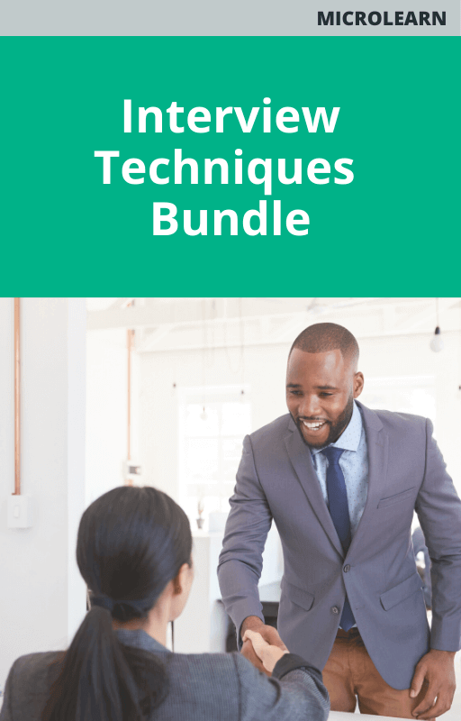 Interview Techniques Bundle