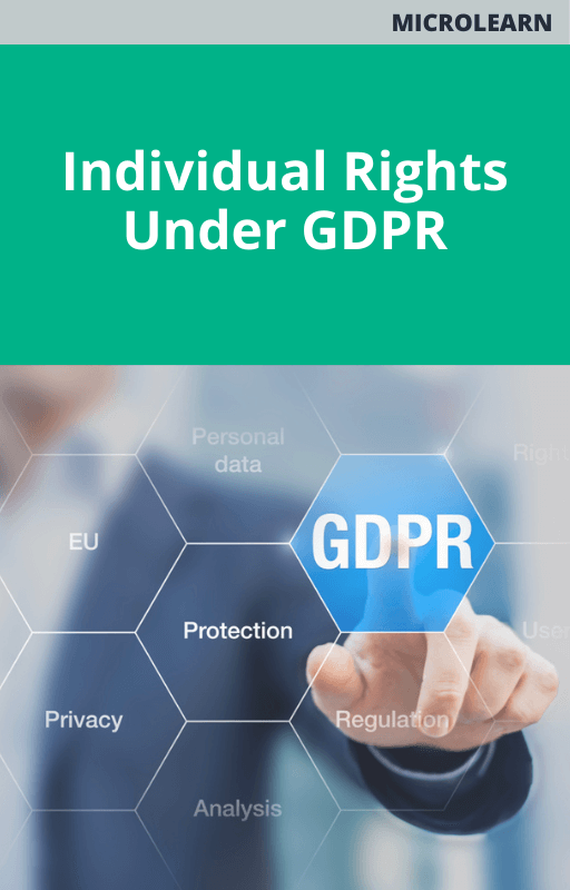 Individual Rights Under GDPR