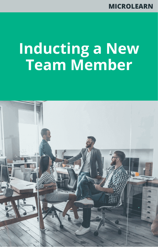 Inducting a New Team Member