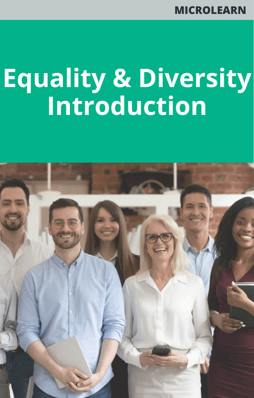 Equality & Diversity Introduction