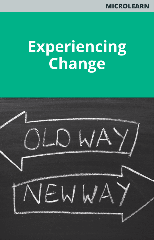 Experiencing Change