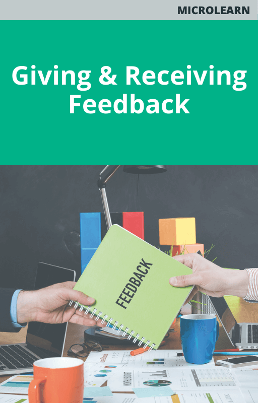 Microlearn Giving and Receiving Feedback Course