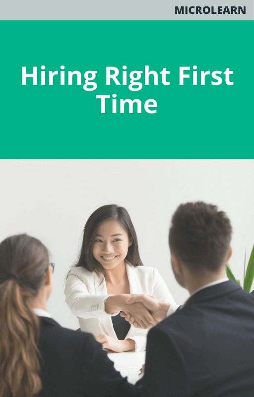 Hiring Right First Time