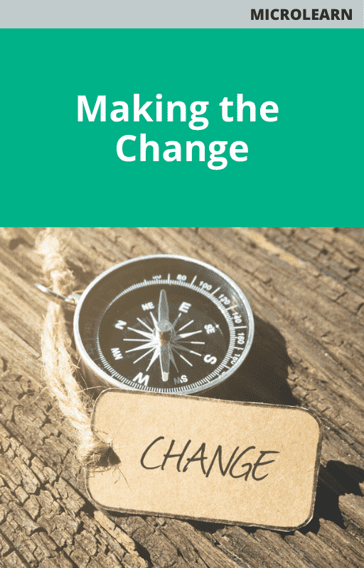 Making the Change