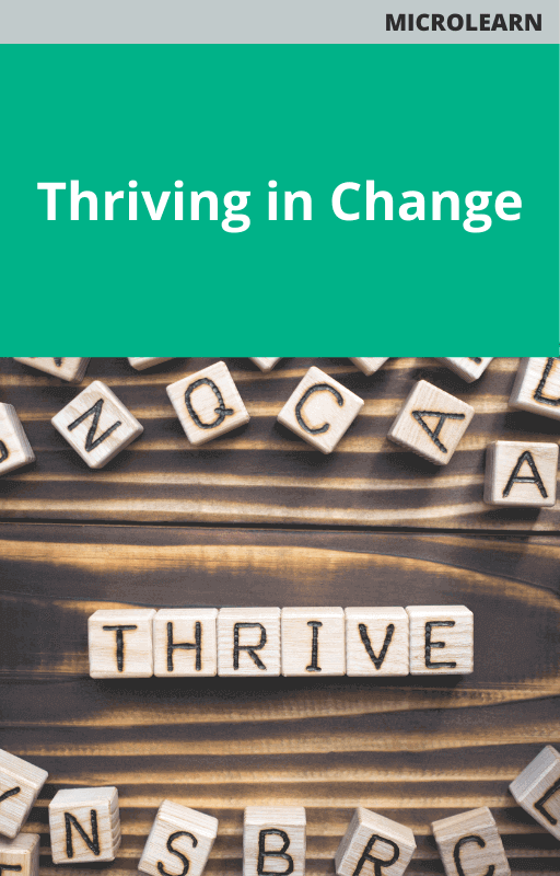 Thriving in Change