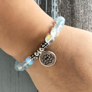 Mermaid Glass Beaded Stacking | Friendship Bracelet - Egret Jewellery