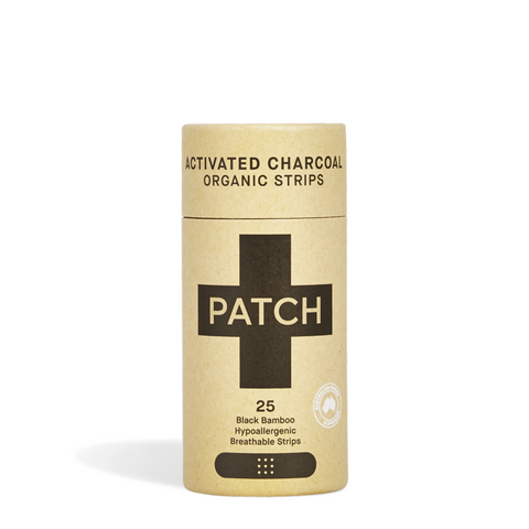 PATCH - ACTIVATED CHARCOAL BAMBOO PLASTER STRIPS -25 TUBE