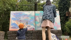 Summertime Painting With Kids