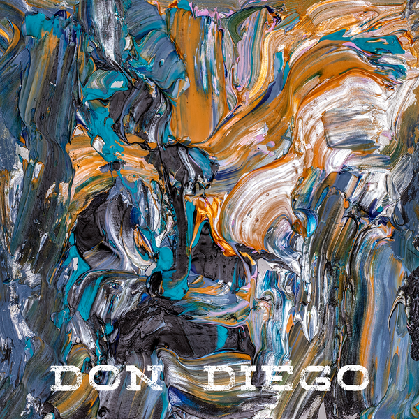 Liis Koger cover painting for Kaibald single Don Diego