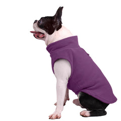 Chihuahua or Small Dog Fleece Jumper with D Rings For Leash Lilac - My Chi and Me