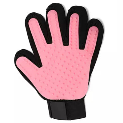 Chihuahua or Small Dog Rubber Grooming Glove Left Hand 5 Colours