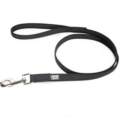 Julius K9 20mm Long Lead Black Length 2 Metre