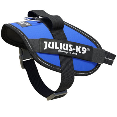 Julius K9 IDC Powerharness for Puppies and Chihuahuas Blue Chihuahua Clothes and Accessories at My Chi and Me
