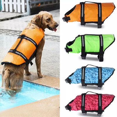 Pet Life Jacket Buoyancy Aid for Chihuahuas or Small Dogs Blue
