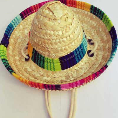 Mexican Sombrero Hat for Chihuahua Small Dog or Puppy Chihuahua Clothes and Accessories at My Chi and Me