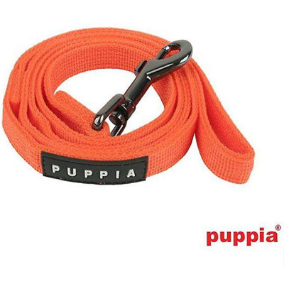 Puppia Soft Orange Dog Lead Large 2cm Width