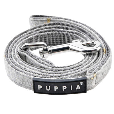 Puppia Gia Chihuahua Harness Melange Grey 2 SIZES Chihuahua Clothes and Accessories at My Chi and Me
