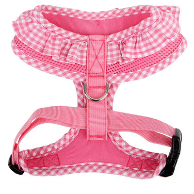 Puppia Vivian Chihuahua Small Dog Harness A Pink 3 Sizes