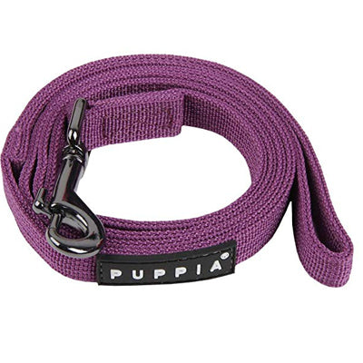 Puppia Soft Purple Chihuahua Lead Medium 1.5cm Width Chihuahua Clothes and Accessories at My Chi and Me