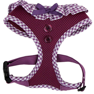 Puppia Vivien Chihuahua Harness A Purple 3 Sizes Chihuahua Clothes and Accessories at My Chi and Me