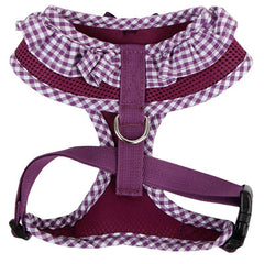 Puppia Vivian Chihuahua Small Dog Harness A Purple 3 Sizes