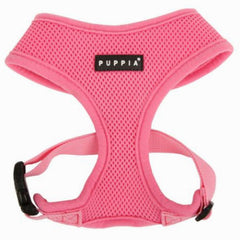 Puppia Soft Mesh Chihuahua Harness A Pink 2 Sizes Chihuahua Clothes and Accessories at My Chi and Me