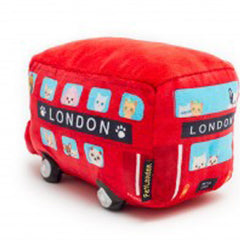 Red Pet London Bus Squeaky Dog Toy and Prop