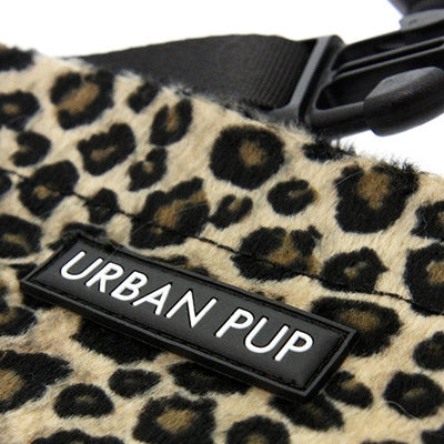 Urban Pup Brown Leopard Bandana for Small Dogs