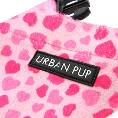 Urban Pup Pink Hearts Bandana for Chihuahuas and Small Dogs