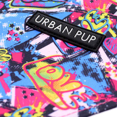 Urban Pup Pink Grafitti Bandana for Chihuahuas and Small Dogs