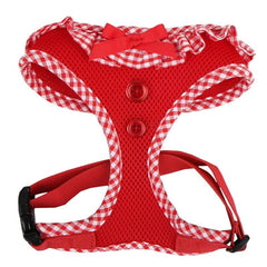 Puppia Vivian Chihuahua Small Dog Harness A Red 3 Sizes
