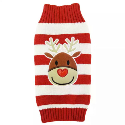 Rudolf The Red Nosed Reindeer Dog Christmas Dog Jumper