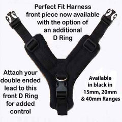 15mm PerfectFit Complete Harness XXS-XXS-XS for Medium Chihuahuas and Toy Breeds 32-40cm Chest * COLOURS Chihuahua Clothes and Accessories at My Chi and Me