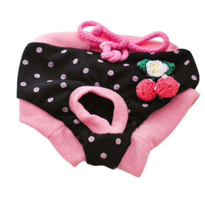 Chihuahua Season Pants Sanitary Menstruation Knickers 3 COLOURS - My Chi and Me