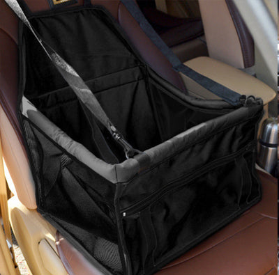 Premium Portable Folding Travel Car Seat Black Mesh Sides - My Chi and Me