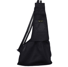 Dog Carrier Across Body Sling Black - My Chi and Me