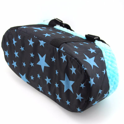 Small Dog Puppy Carrier Travel Bag Style Blue Stars