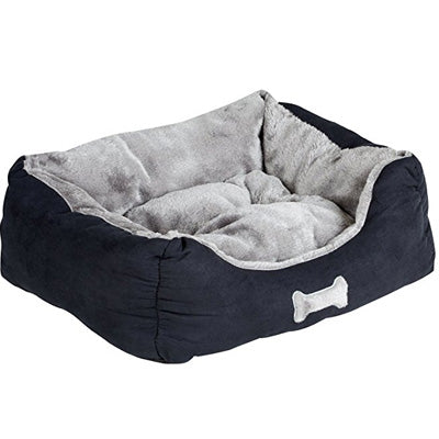 Car Seat Bed Black and Grey