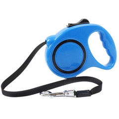 Retractable Chihuahua or Small Dog Lead blue